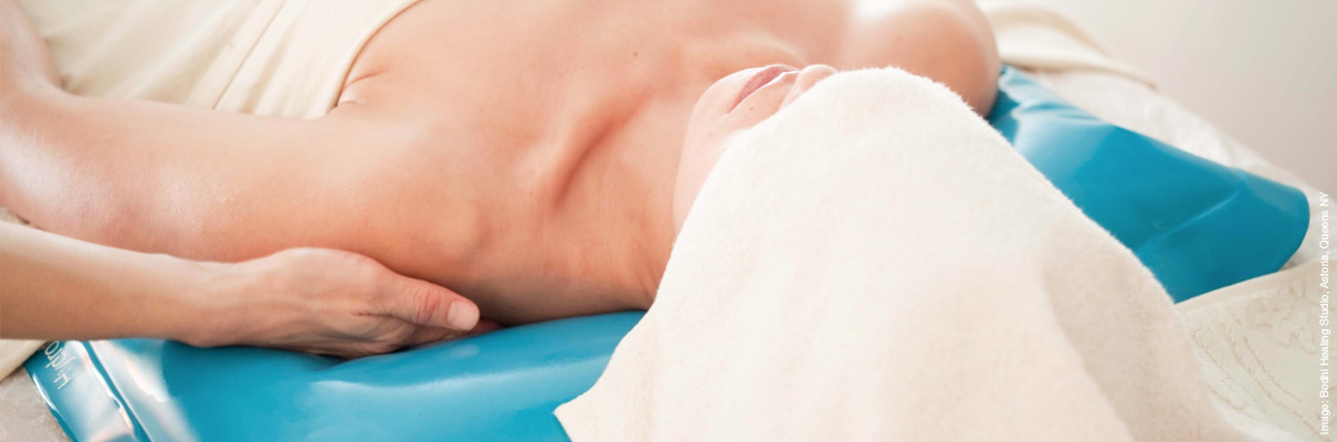 Voorbeeld van hydra kussen massage